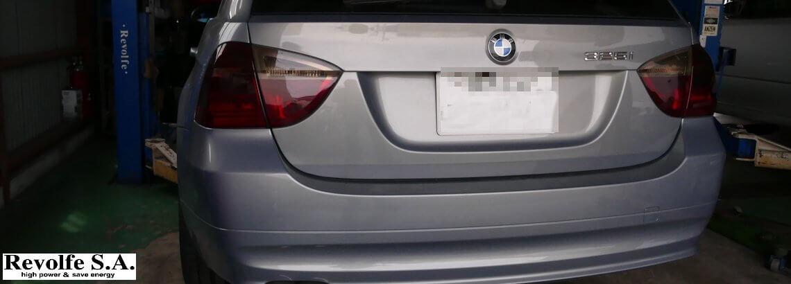 BMW325 の車検前点検