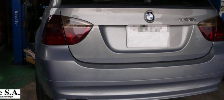 20180903_BMW325_車検_レヴォルフェエスアー