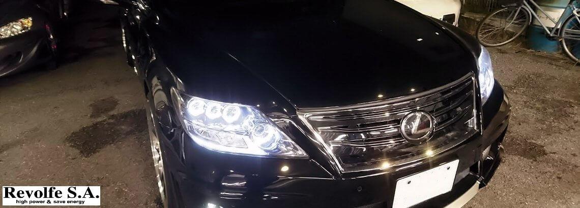 LEDランプ類の修理と交換 – レクサス・LS460