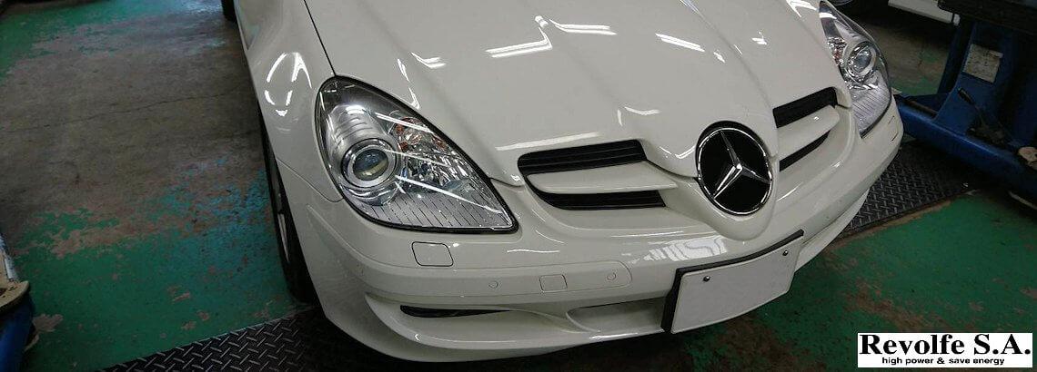 ビルシュタインバネのリフレッシュ – ベンツSLK R171