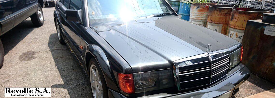 車検、修理、整備 – メルセデス・ベンツ190E – Evolution2