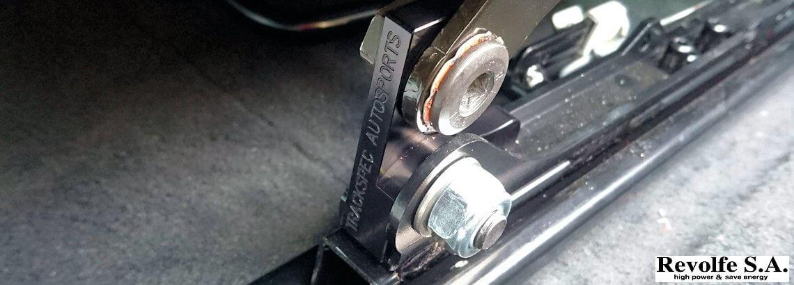 ドライビングポジション補正 – ポルシェ911 GT3
