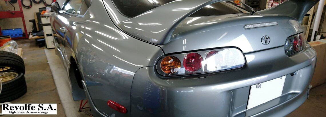 足回り調整 – トヨタ・スープラ