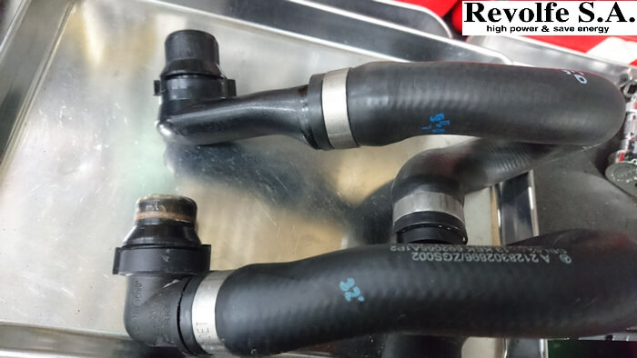 20200531_メルセデスベンツ_cls63_x218_冷却水漏れ_11