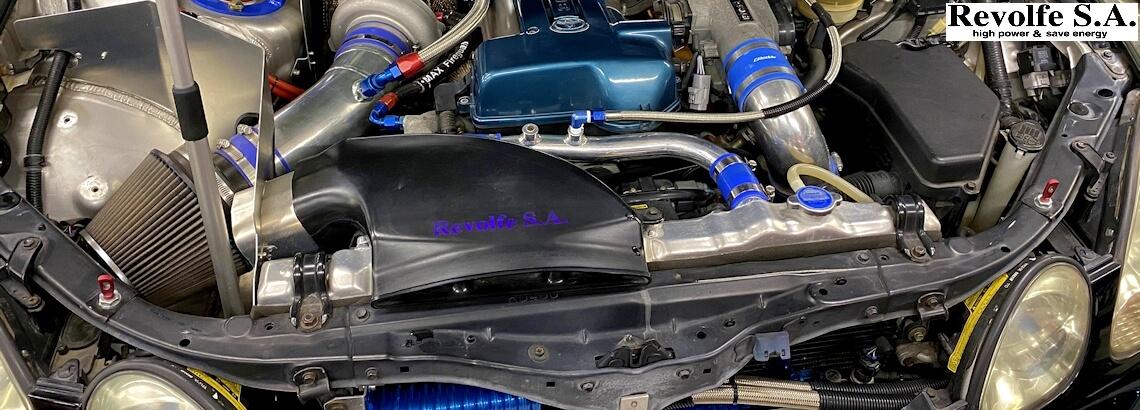 チューニングカーの車検整備 – トヨタ・アリスト