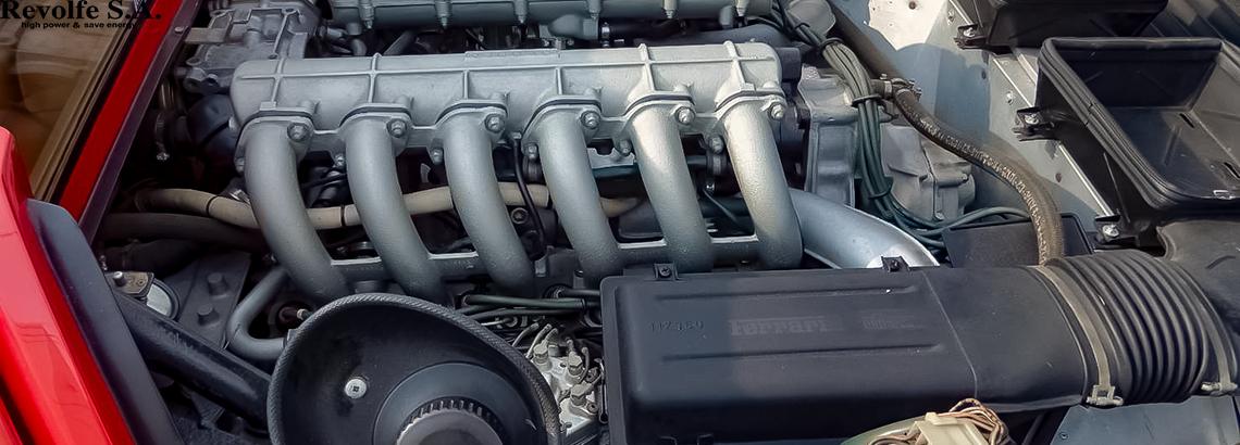 燃料漏れ修理 – フェラーリ512BB